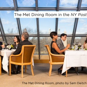 The Met Dining Room is Open to the Public