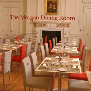 Dining at the Morgan Library & Museum