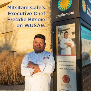 In the news: Chef Freddie Bitsoie on WUSA9