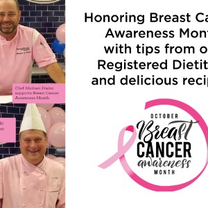 Recognizing Breast Cancer Awareness Month