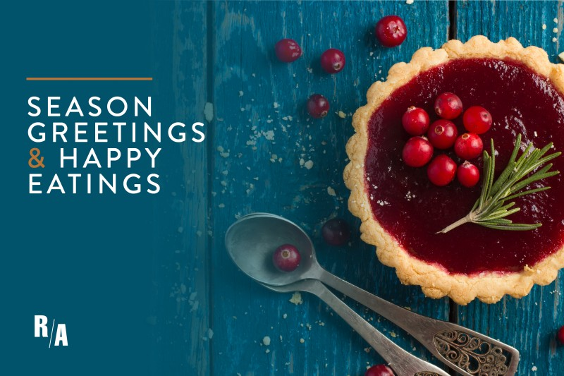Seasons' Greetings & Happy Eatings